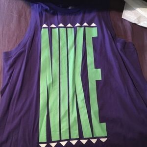 Purple Nike TankTop